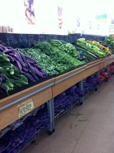 Produce Section Waltham India Market