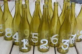 wine bottles green